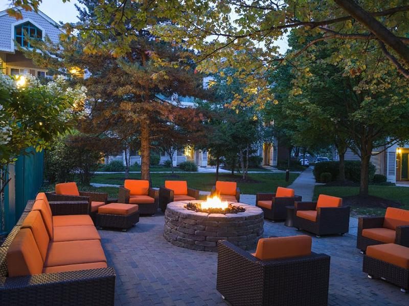Fire Pit | Senior Living Community | Gaithersburg