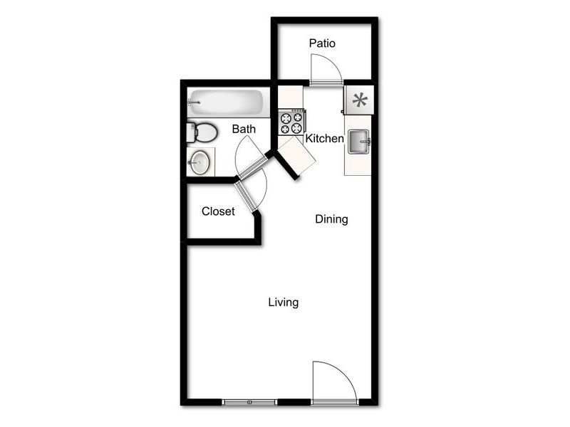 Floor Plans at Willowcreek Apartments