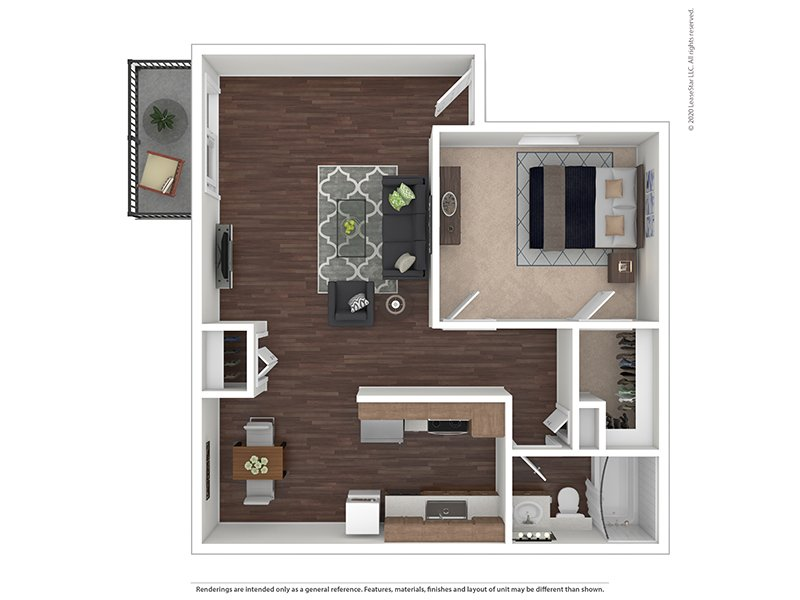 Our Acacia is a 1 Bedroom, 1 Bathroom Apartment