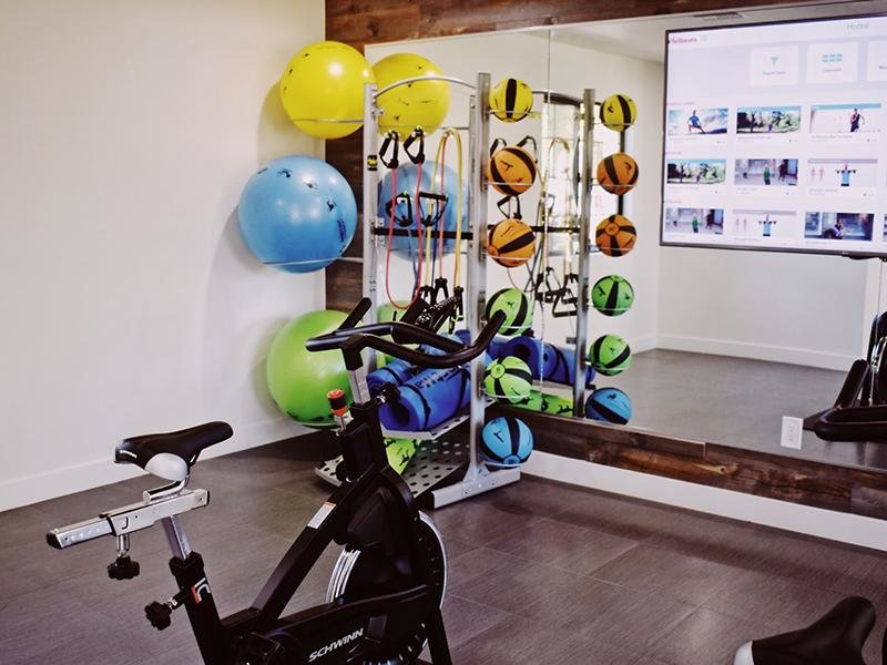 Gym | Entrada Apartments