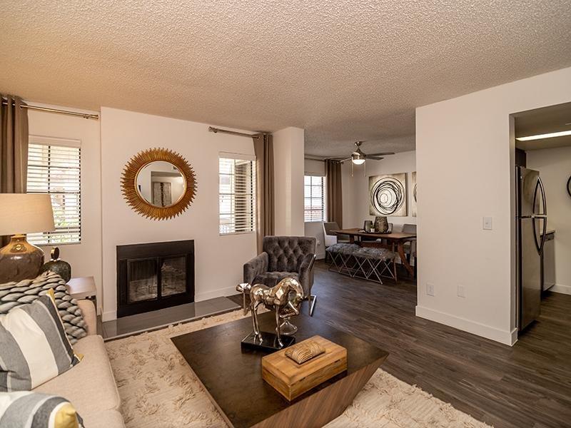 Living Room | Entrada Apartments