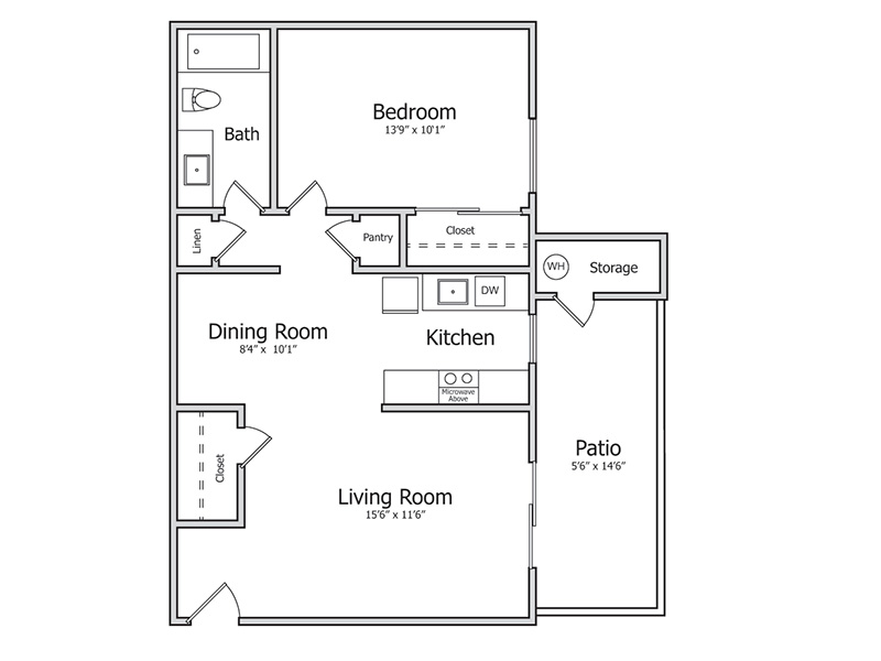 Floor Plans at Indian Springs Apartments