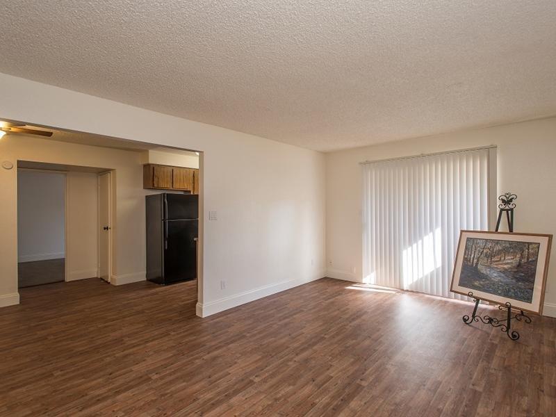 Living Room - Hardwood Floors - Indian Springs