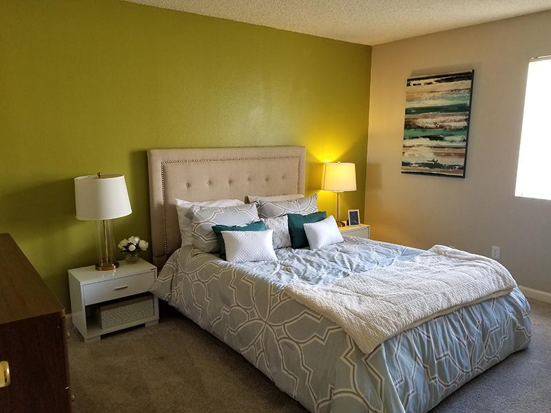NEW Bedroom |  Indian Springs Apartments - AZ
