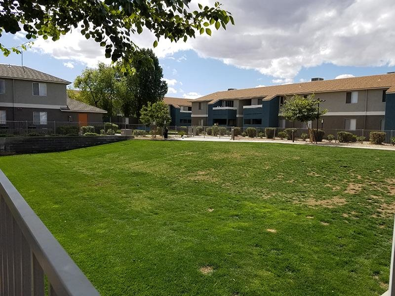 NEW Manicured Lawns- Indian Springs Apartments