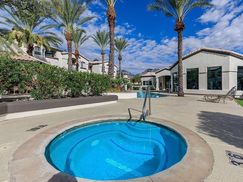 Luxury Hot Tub | Pinnacle Heights Apartments Tucson AZ