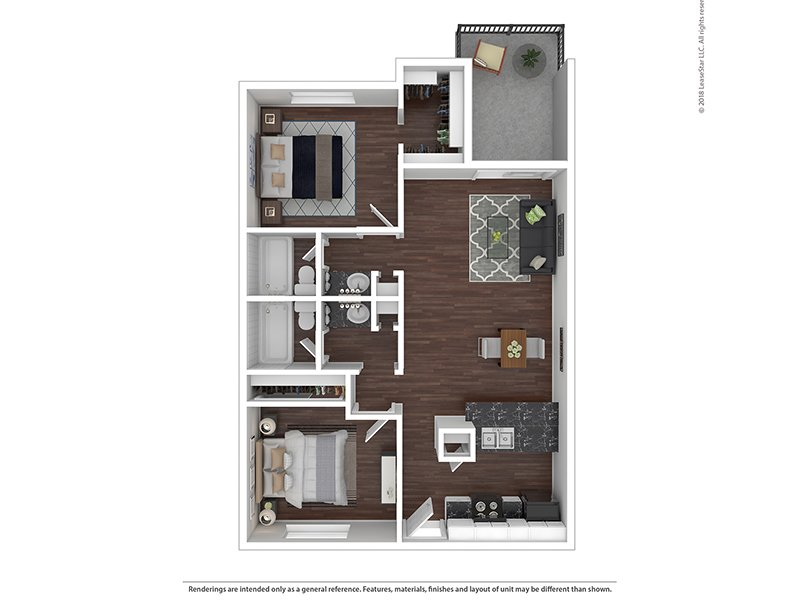Floor Plans at Waterstone Apartments