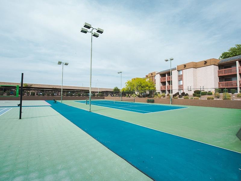 Tennis Courts | Mesa Apartments
