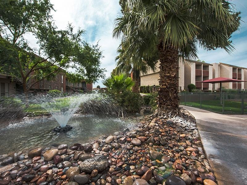 Exterior Fountain & Landscapes | Waterstone Mesa