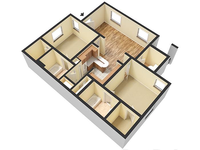 Floor Plans at Avenue 25 Apartments