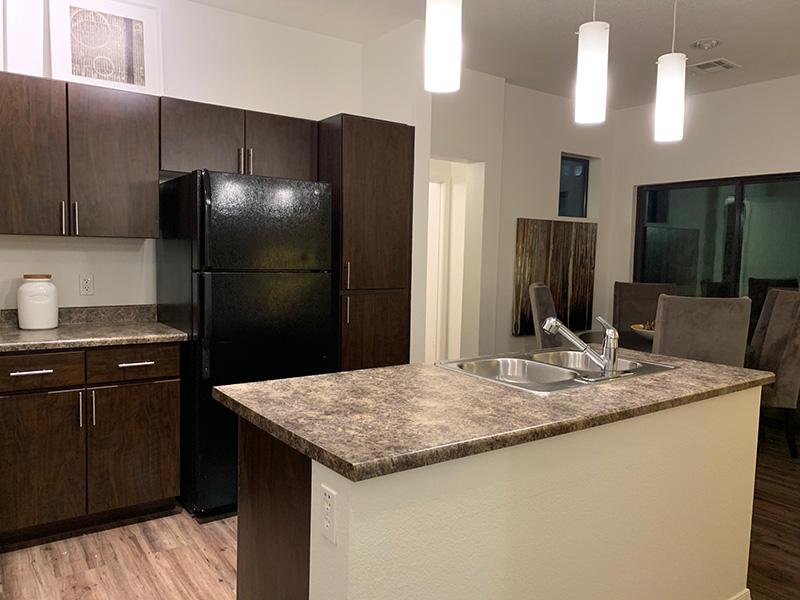 Fully Equipped Kitchen   Elevation Luxury Apartments