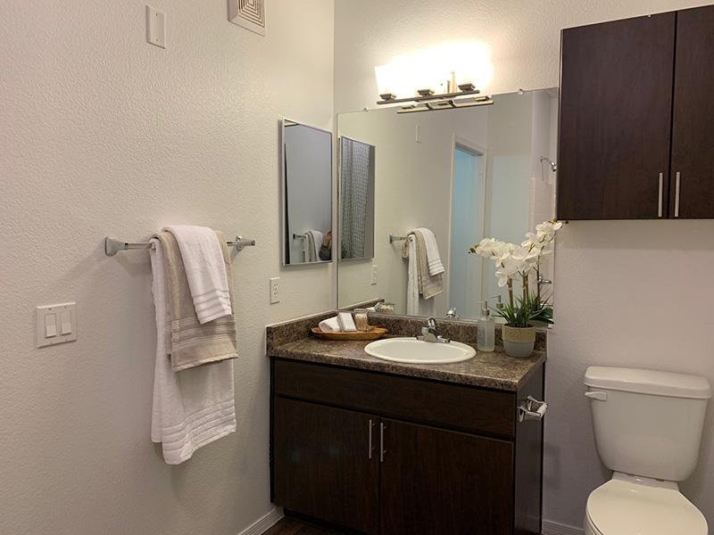 Bathroom | Elevation Luxury Apartments