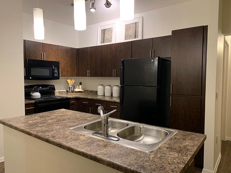 Kitchen   Elevation Luxury Apartments