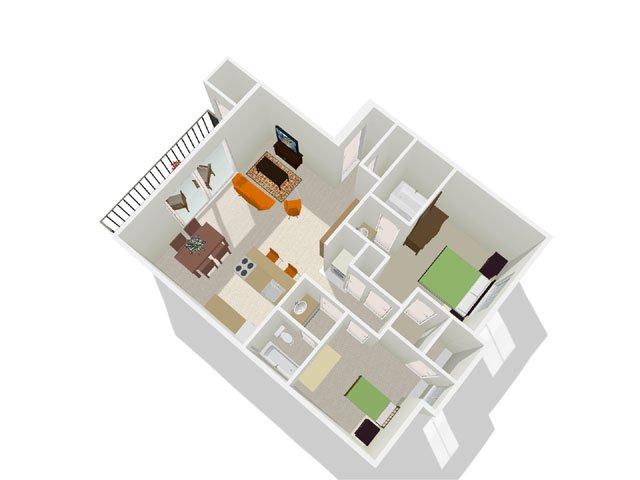 Floor Plans at Crystal Creek AZ Apartments