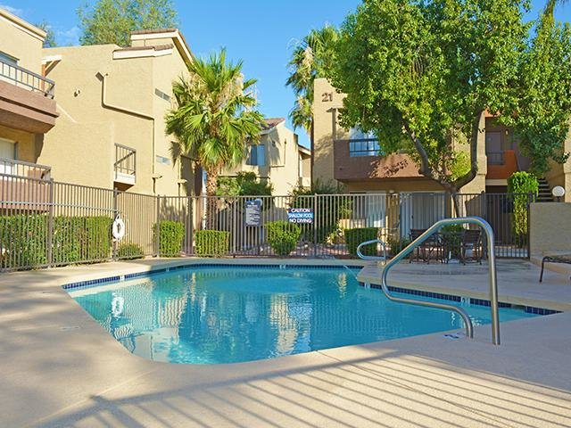 Pool   Crystal Creek Apartments in Phoenix