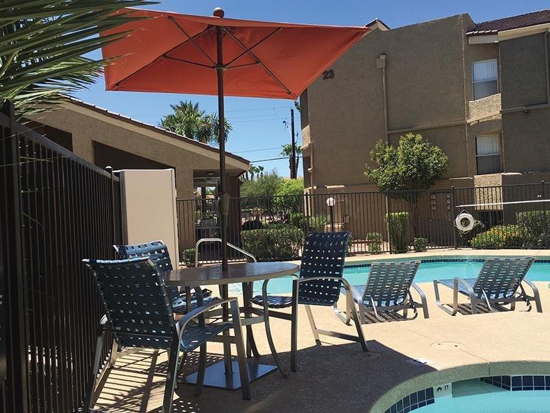 Patio   Crystal Creek AZ Apartments in Phoenix, AZ