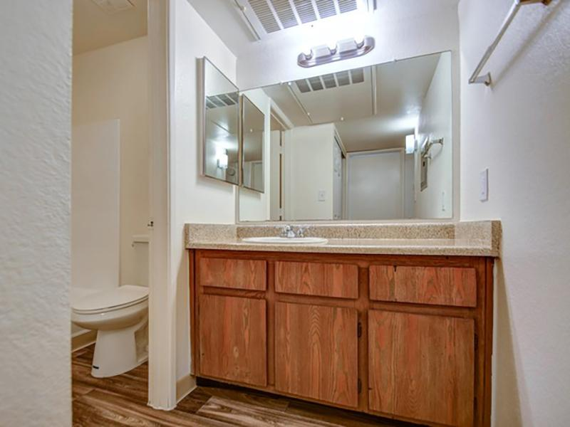 Bathroom | Sunset Terrace Apartments