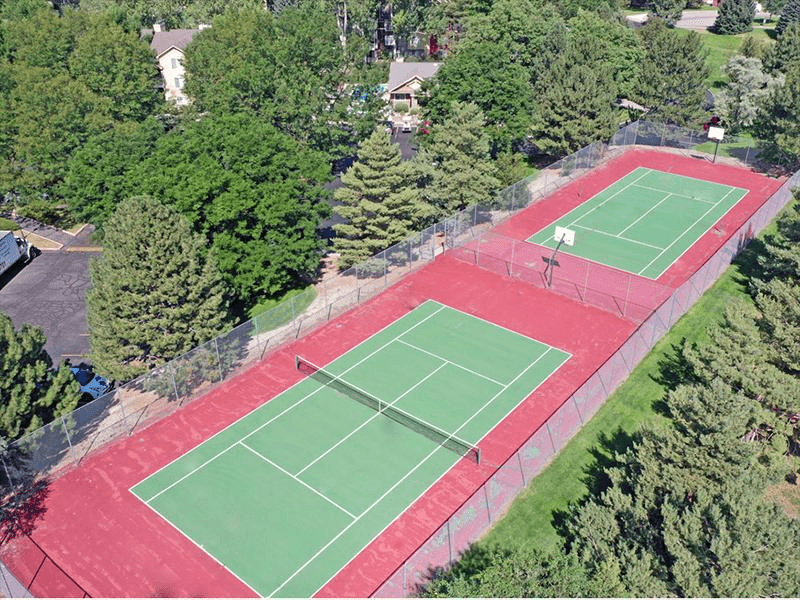 Tennis Court | Arbors at Sweetgrass