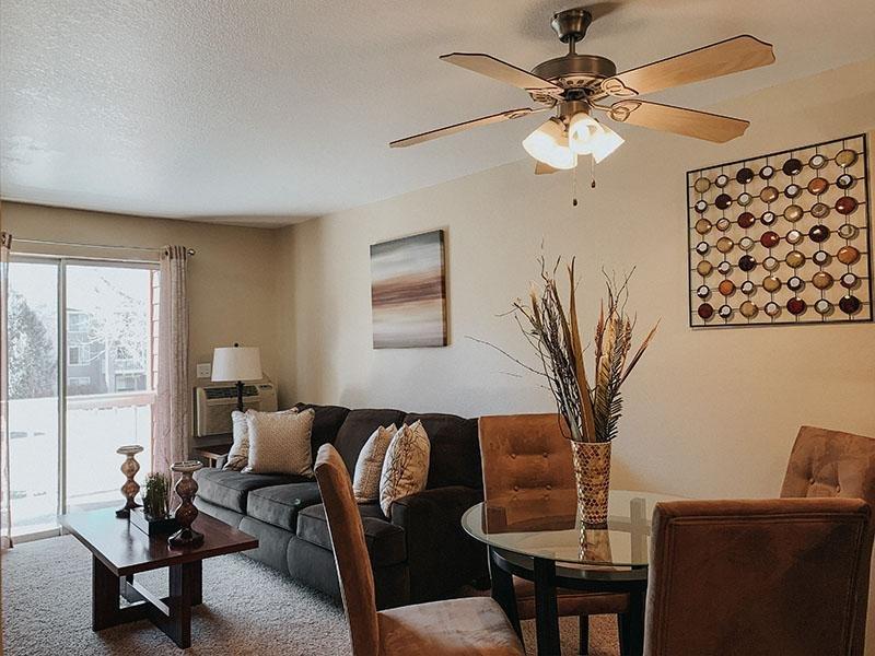 Dining Area & Living Room | Arbors at Sweetgrass
