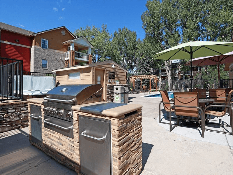BBQ Area | Arbors at Sweetgrass