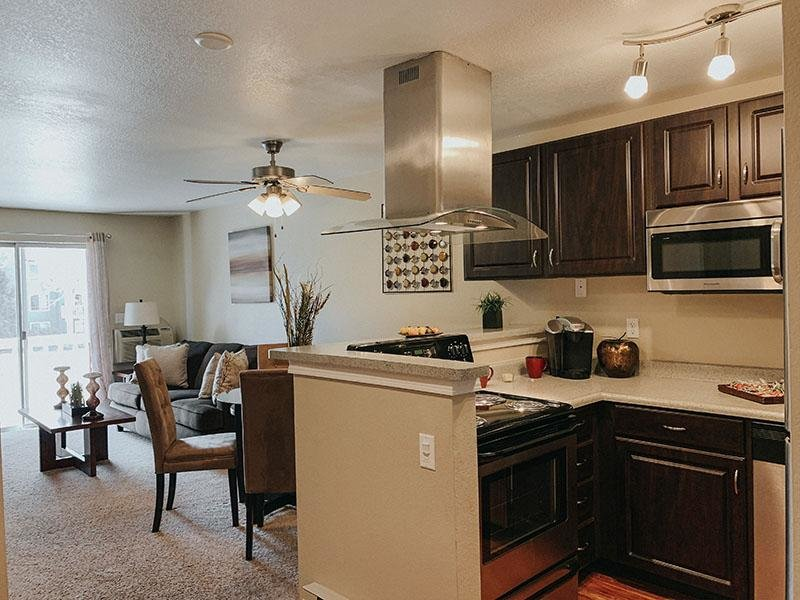 Kitchen & Dining Area | Arbors at Sweetgrass