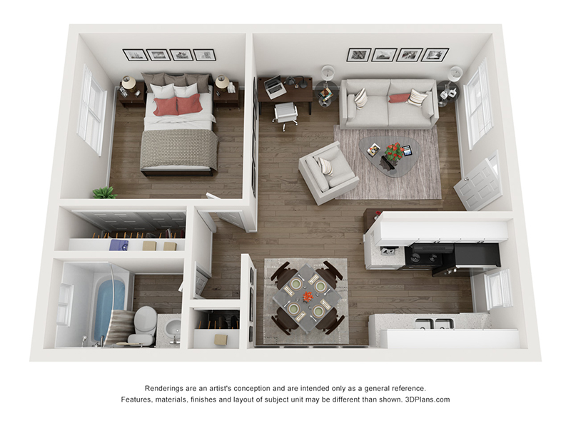 Our 1 Bedroom 1 Bathroom is a 1 Bedroom, 1 Bathroom Apartment