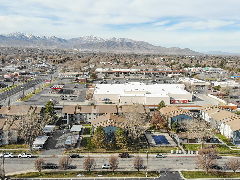 Aerial View   Aspire West Valley Apartments