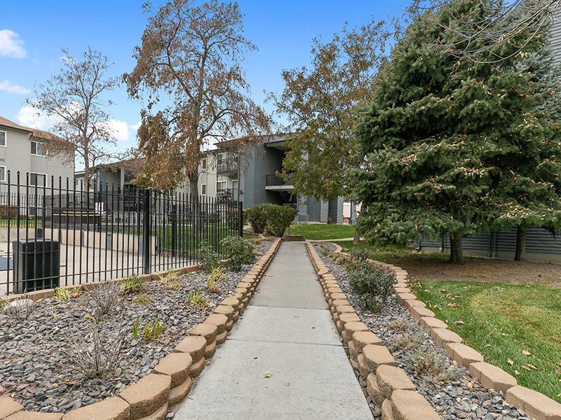 Outdoor Walkways   Aspire West Valley Apartments