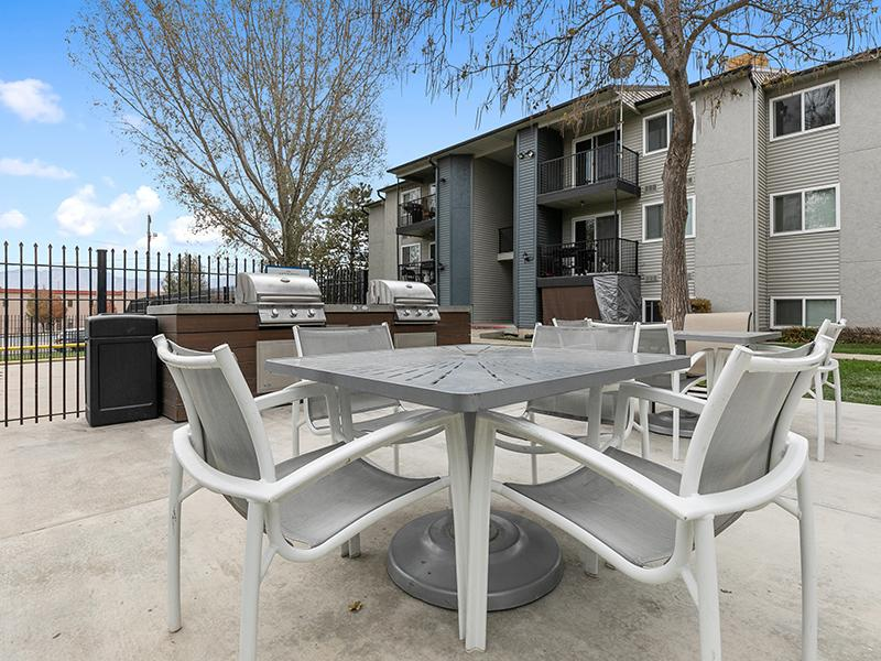 Grill and Barbecue Area   Aspire West Valley Apartments