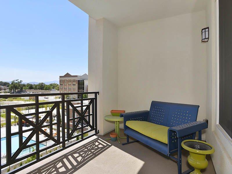 Balcony | Birkhill Apartments in Murray, UT