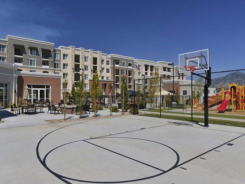 Sports Court | Birkhill Apartments in Murray, UT