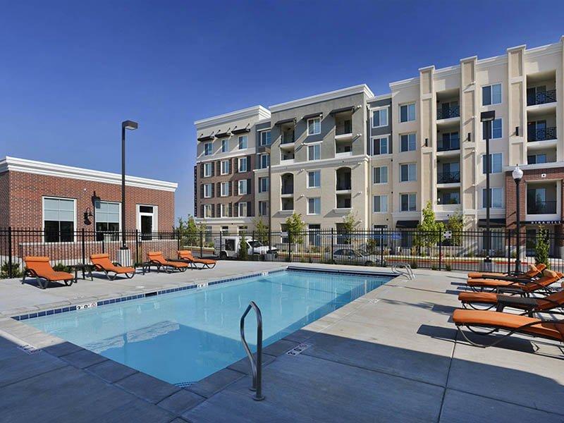 Pool | Birkhill Apartments in Murray, UT