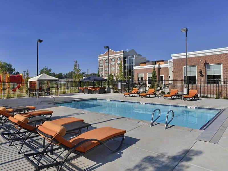 Swimming Pool | Birkhill Apartments in Murray, UT