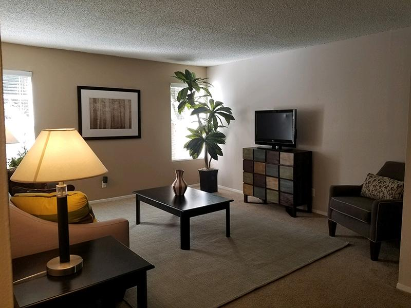 Living Room  | Butterfield Trail Apartments
