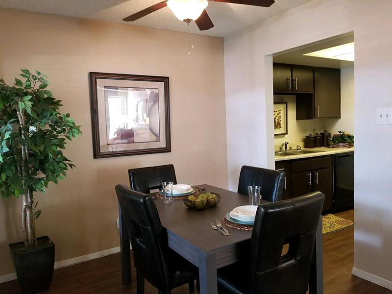 Dining Area | Butterfield Trail Apartments