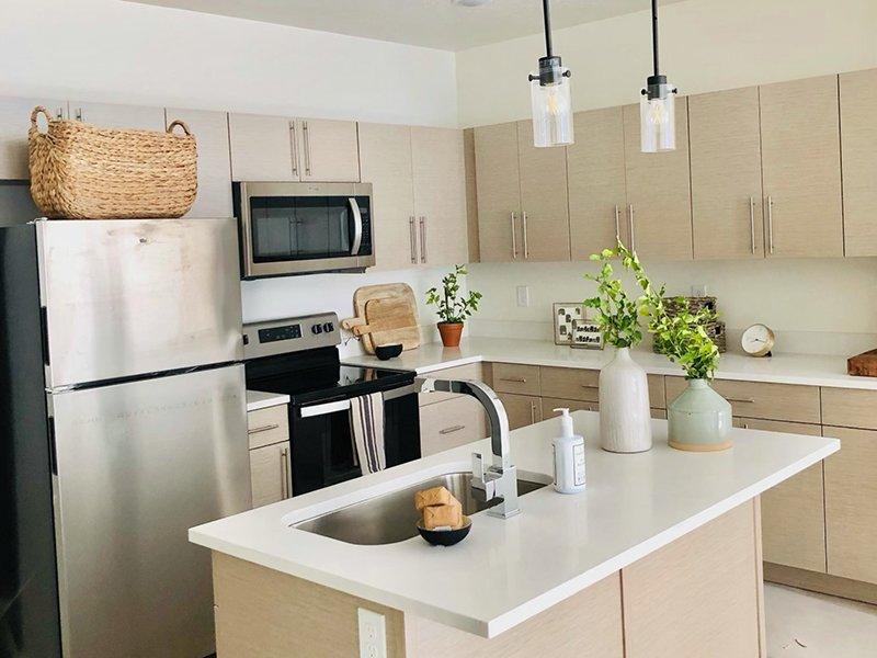 Kitchen   Canyon Vista Apartments in Draper, UT
