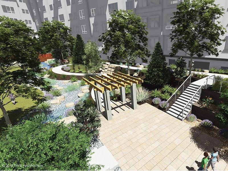 Beautifully Landscaped   Canyon Vista Apartments in Draper, UT