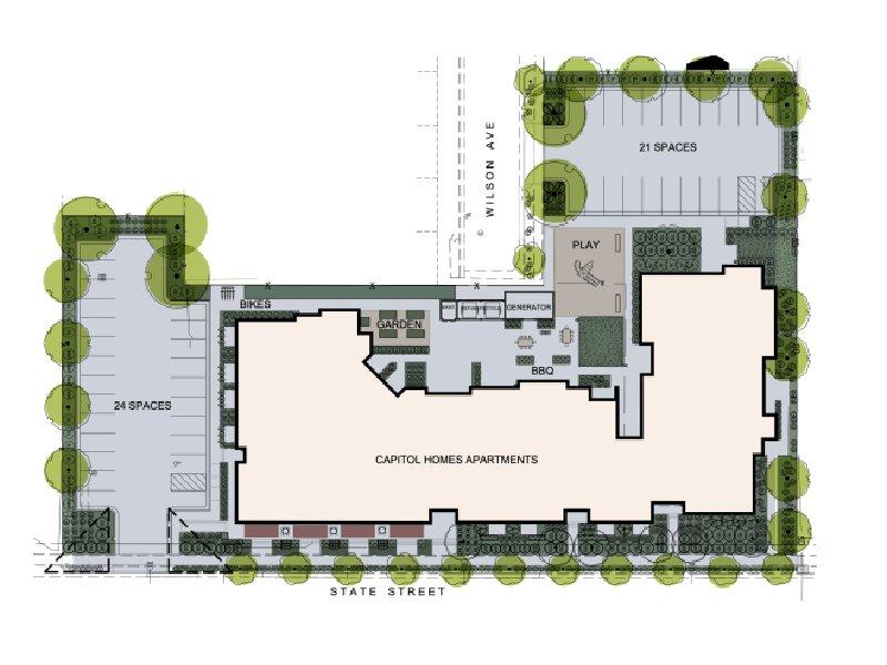 Apartment Map | Capitol Homes Apartments in Salt Lake City, UT
