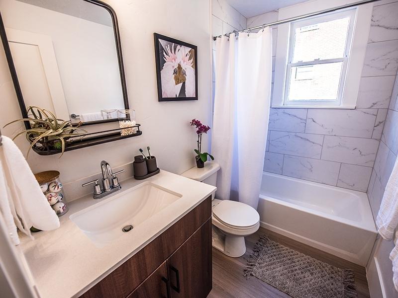 Bathroom | Clairmont Apartments