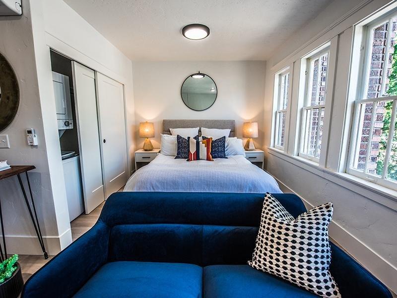 Studio Apartments in Downtown SLC | Clairmont Apartments