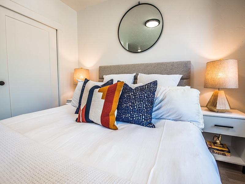 Bedroom | Clairmont Apartments in SLC, UT