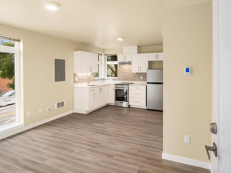 Hardwood Flooring | Cubix Northgate in Seattle, WA