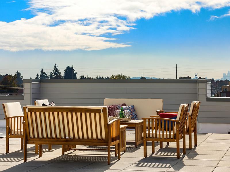 Rooftop Terrace | Cubix North Park in Seattle, WA