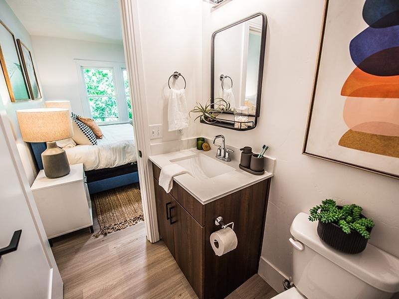 Bathroom   Council Crest Apartments  in Salt Lake City, UT