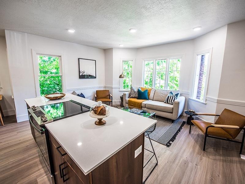 Kitchen & Living Room   Council Crest in Salt Lake City, UT
