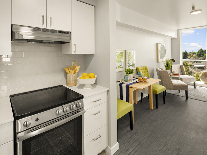 Kitchen & Dining Area | 2 Bedroom | Cubix Crown Hill