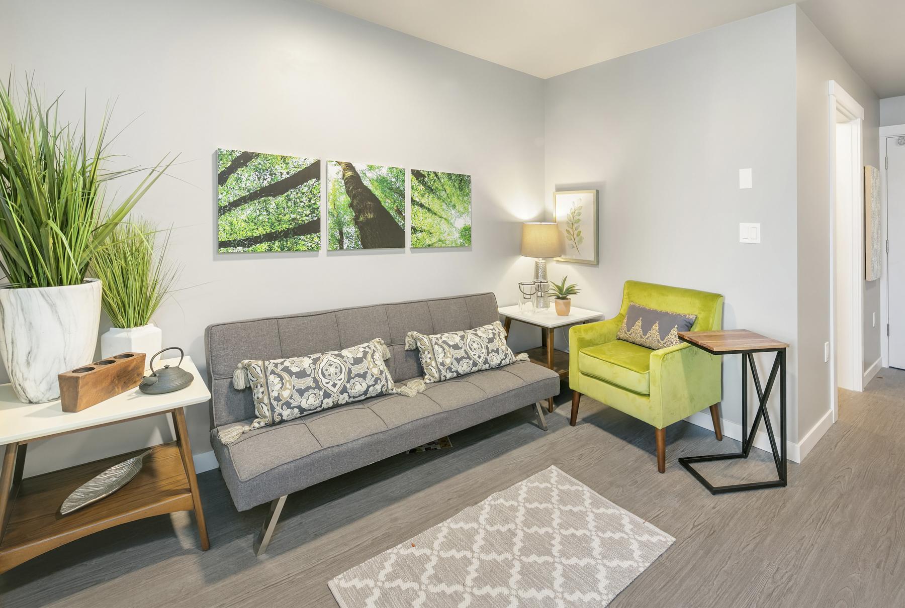 Front Room | 1 Bedroom | Cubix Crown Hill