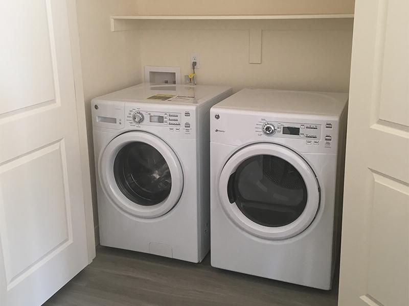 Washer and Dryer | District North