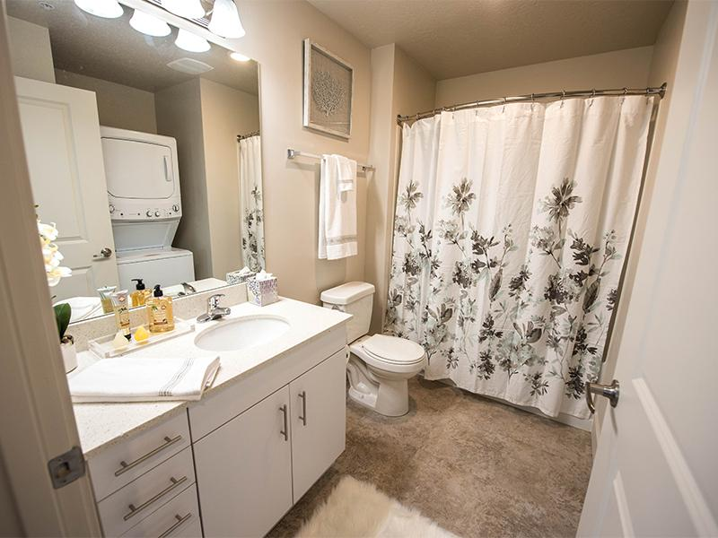 Bathroom | District North Apartments