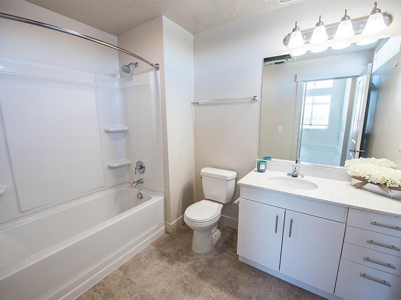 Renovated Bathroom | District North